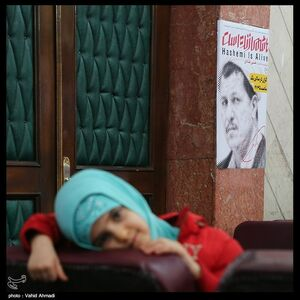 «سازمان» منافقین با عضو فراری ستاد میرحسین به جشنواره عمار آمد