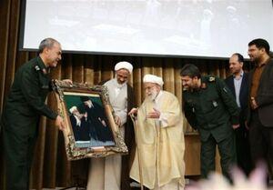 پاسداشت ۴۰ سال مجاهدت آیتالله جنتی در سپاه +عکس