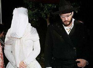حجاب عروس یهودی +عکس