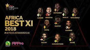 برترین بازیکن سال 2018 آفریقا انتخاب شد +عکس