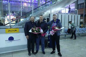 عکس/ کولاکوویچ با پسرش وارد ایران شد