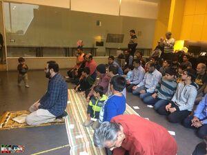 برگزاری نماز جماعت در موزهای در تگزاس +عکس