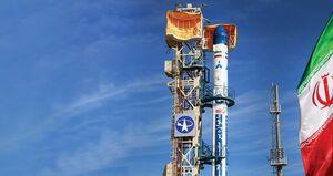 فیلم/ لحظه پرتاب ماهواره پیام به فضا