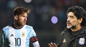 مارادونا: مسی رهبر خوبی نیست