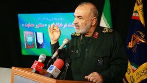 سردار سلامی: نا امیدی ملت ایران را نخواهید دید