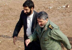 پست حاج حسین یکتا برای شهید احمد کاظمی +عکس