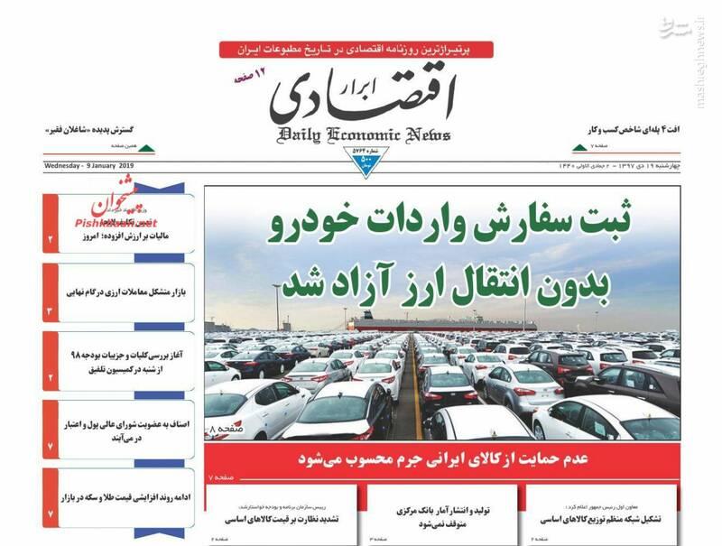 ابرار اقتصادی: ثبت سفارش واردات خودرو بدون انتقال ارز آزاد شد