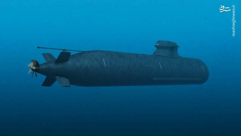 نمایهای از زیردریایی کلاس A26