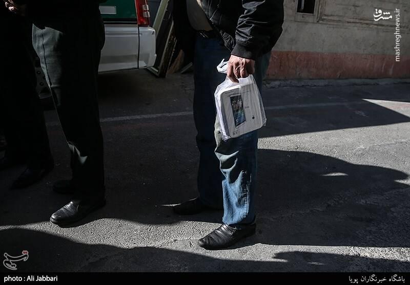 عکس/ بازداشت سارقان تلفن همراه تهران