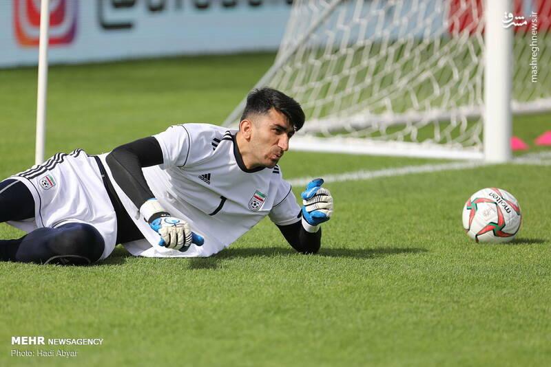 عکس/ آخرین تمرین تیم ملی قبل از دیدار با ویتنام