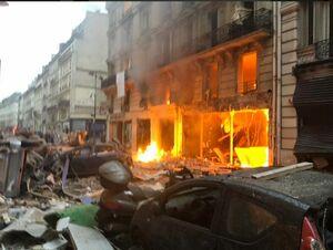 اولین تصاویر از انفجار مهیب در پاریس