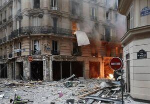 انفجاری بزرگ مرکز پاریس را به لرزه درآورد +عکس