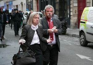عکس/ مجروحان انفجار هولناک در پاریس