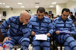 عکس/ سومین دادگاه متهمان پرونده دومان توکان