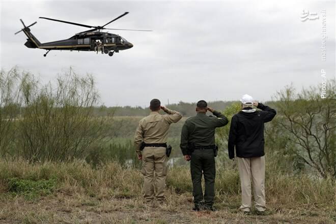 ترامپ در ایالت تگزاس حاضر شده و از سربازان مرزی تقدیر کرد. تعطیلی جزئی دولت فدرال در حال رکوردشکنی است.