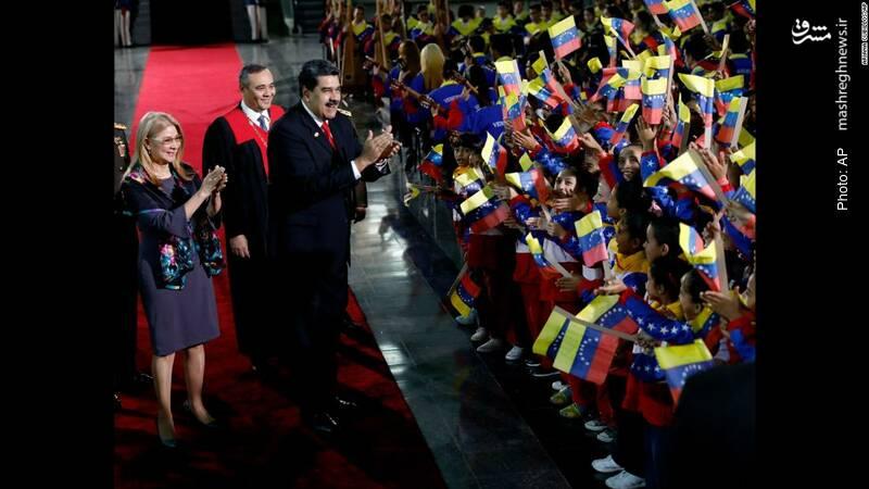 آغاز دور جدید ریاستجمهوری مادورو در ونزوئلا