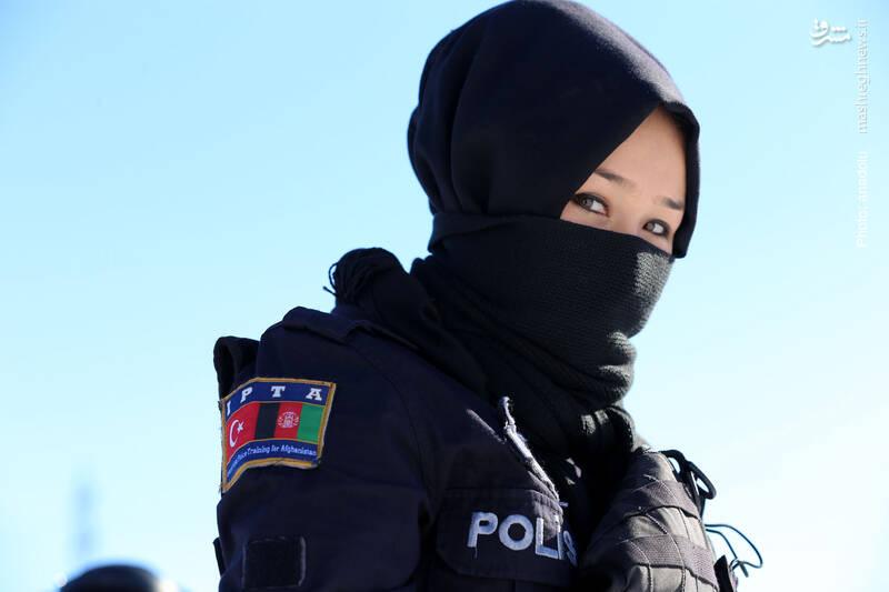 آموزش 168 پلیس زن در سیواس ترکیه