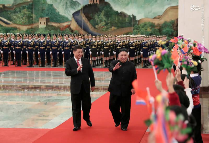 سفر چندین باره کیم جونگ اون به چین، کشوری که نزدیک ترین روابط سیاسی و اقتصادی را با پیونگیانگ دارد.