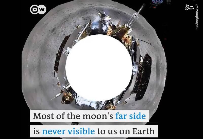 نخستین تصویر پانوراما از کره ماه