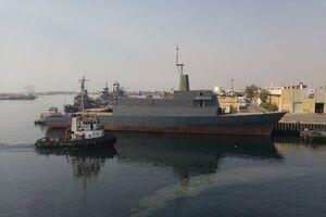 تصویر جدید از ناو در دست ساخت نیرویدریایی ارتش