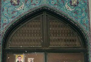 عکس/باب الشهدای حرم مطهر حضرت زینب