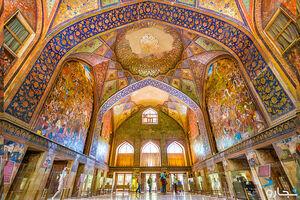 عکس/ نمایی زیبا از کاخ چهلستون