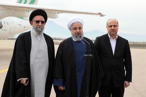روحانی: طرحهای جدیدی در گلستان اجرایی میشود