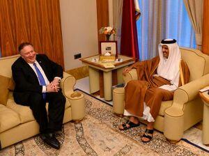عکس/ سفر وزیر خارجه آمریکا به قطر