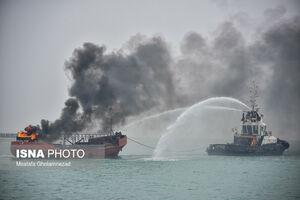 عکس/ مانور مقابله با شرایط اضطرار دریایی