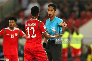 داور مالزیایی از جام ملتهای آسیا اخراج شد