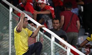 فیلم/ درگیری و چاقوکشی خونین در فوتبال ایران