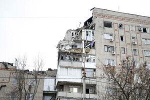 عکس/ یک کشته و چهار مفقود بر اثر انفجار گاز در روسیه