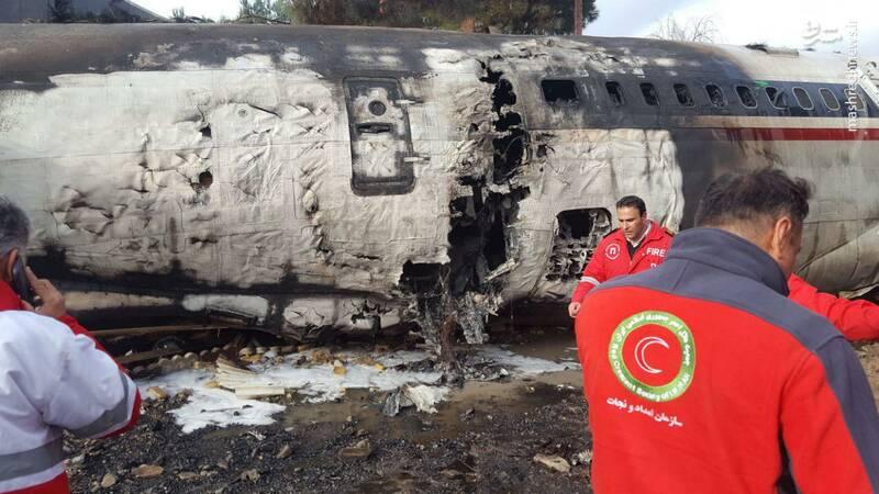 جزئیات سقوط هواپیمای بوئینگ 707 در کرج + عکس و فیلم