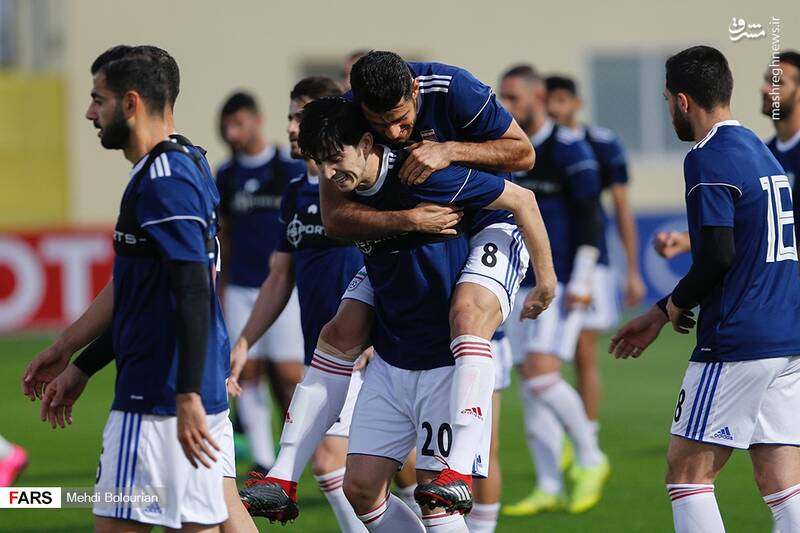عکس/تمرین تیم ملی در دبی