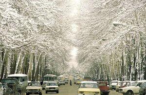 عکس نوستالژی از خیابان ولیعصر تهران