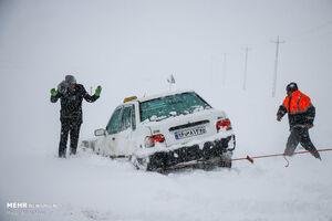 پیش بینی برف، باران و کولاک در ۲۷ استان