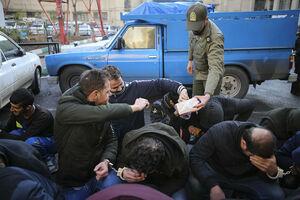 عکس/ پذیرایی از خلافکاران تهرانی!