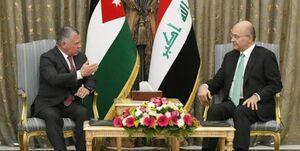 شاه اردن در عراق به دنبال چیست؟