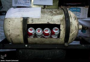 عکس/ جاسازی مشروب در کپسول گاز!