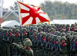 رشد سریع حضور نظامی ژاپن در منطقه