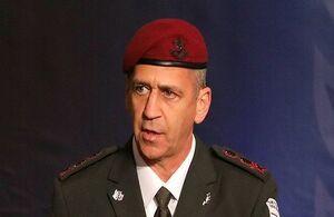 یک اطلاعاتی رئیس ستادکل ارتش اسراییل شد