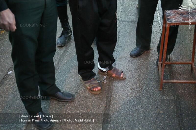 اعدام قاتل ملیکا دختر پنج ساله