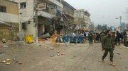 """فیلم/  انفجار مهیب در شهر """"منبج"""" سوریه!"""