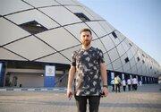 عکس/ بدل ایرانی مسی در ورزشگاه آل مکتوم