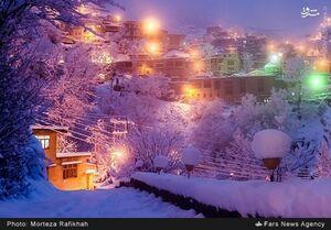 عکس/ طبیعت زیبای زمستانی ماسوله