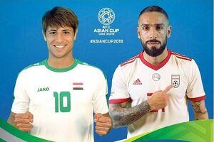 پست اینستاگرام AFC برای بازی ایران و عراق +عکس - کراپشده