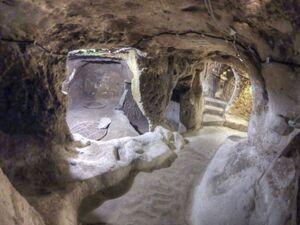 عکس/ شهر زیر زمینی در ترکیه
