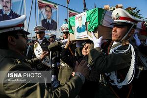 عکس/ تشییع شهدای حادثه سقوط بوئینگ ۷۰۷