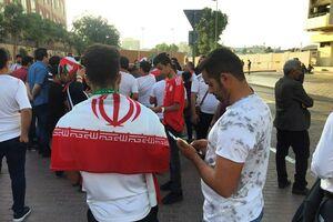 تماشاگران ایرانی بهدنبال بلیت در بازار سیاه