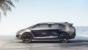 رونمایی از شاسی بلند مفهومی Entranze در نمایشگاه خودرو دیترویت +عکس
